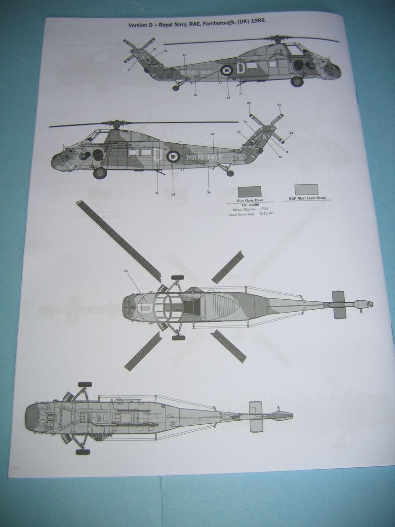 Elicottero Wessex : Abbiamo rotto la scatola del wessex uh italeri scala