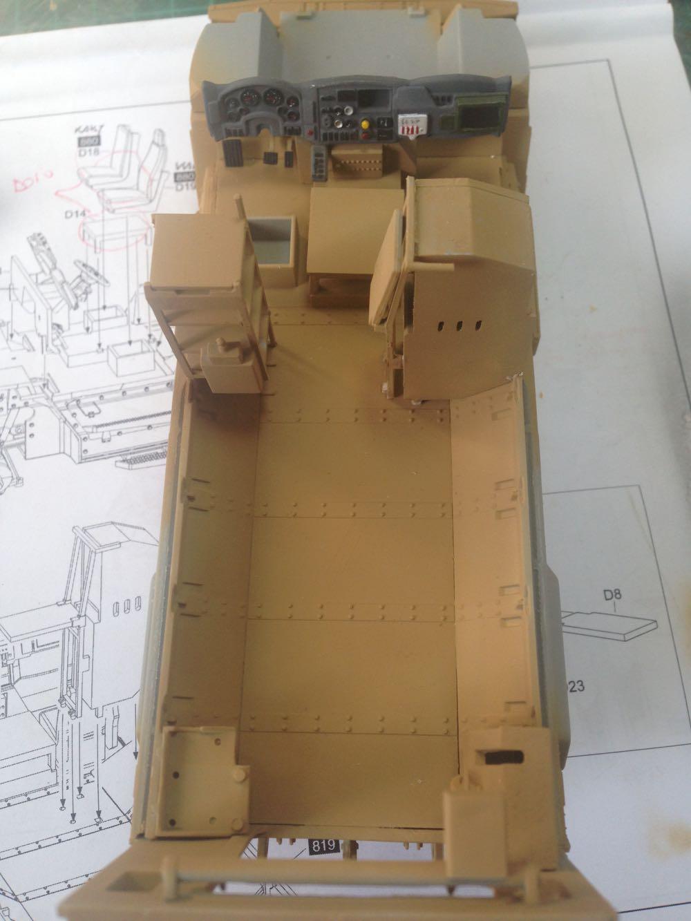 Navistar Maxxpro 4x4 Esercito Italiano Da Kit Kinetic Scala 1 35