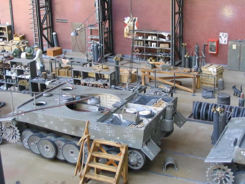 Tavoli Da Lavoro Per Modellismo : La fabbrica di kassel